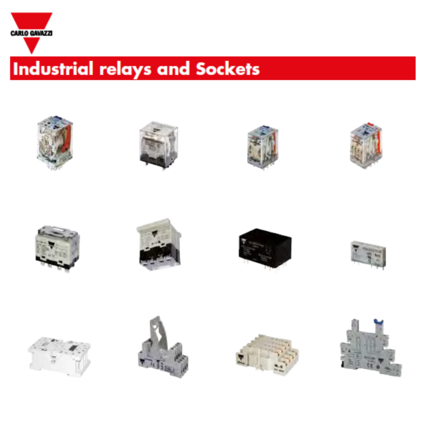 industriRelaynsockets